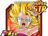 Strength to Survive Super Saiyan 2 Caulifla