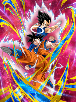 SSR Goku (Angel) and Vegeta (Angel)