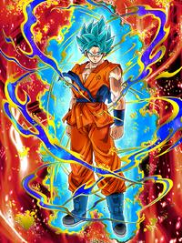 Ultimate Level Saiyan Super Saiyan God SS Goku