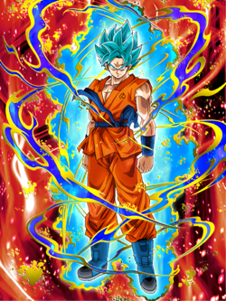 Ultimate Level Saiyan Super Saiyan God SS Goku