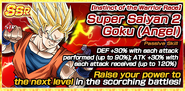 Instinct of the Warrior Race Super Saiyan 2 Goku (Angel)