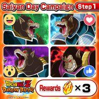 Saiyan Day Campaign Step 1