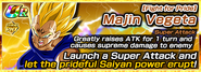 Prideful Battle Majin Vegeta