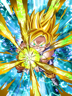 Dashing Light Super Saiyan Goku (GT)