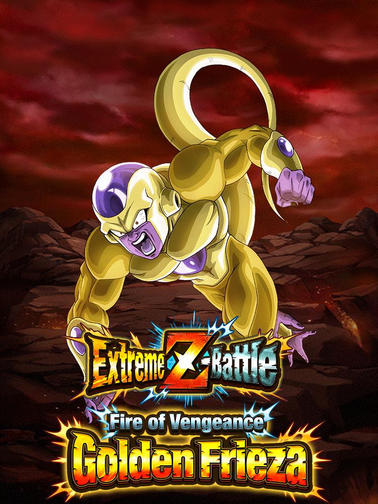 Tactics: Extreme Z-Battle: Fire of Vengeance Golden Frieza | Dragon