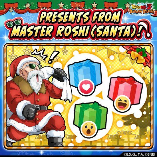 Present from Roshi (Santa)