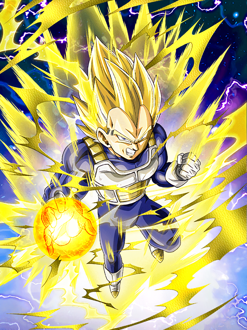 Reclaim The Summit Super Saiyan Vegeta Dragon Ball Z Dokkan Battle