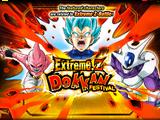 Extreme Z Dokkan Festival: Super Saiyan God SS Vegeta