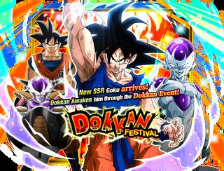 Goku dokkan festival