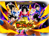 Rare Summon: Super Full Power Saiyan 4 Goku Thank-You Dokkan Festival