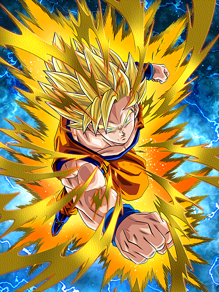New challenges super saiyan goku dragon ball z dokkan battle wikia fandom powered by wikia - Sangoku super sayen 6 ...