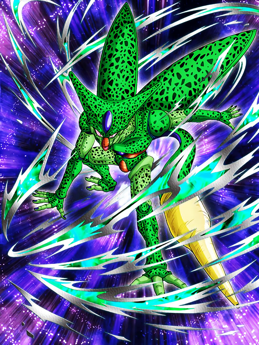 the elusive beast cell 1st form dragon ball z dokkan