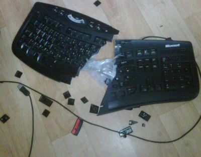 Broken-Keyboard
