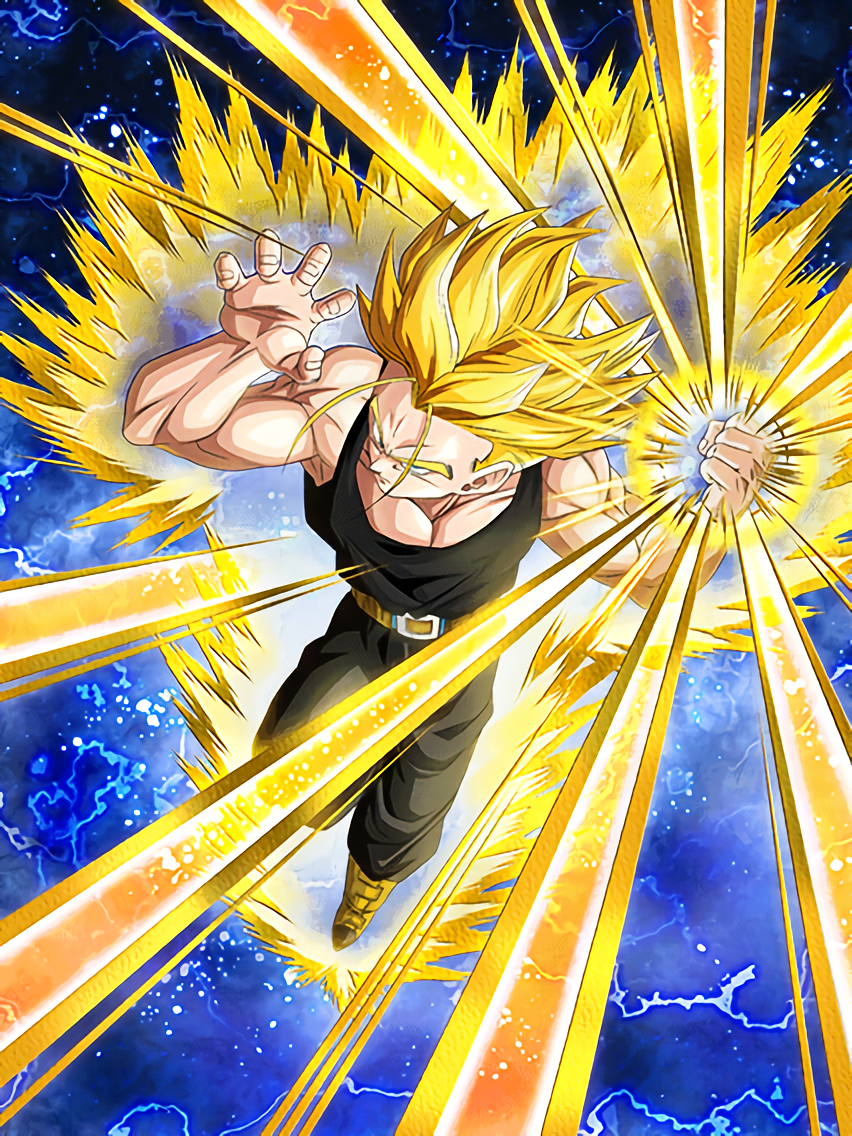 The Future Changer Super Saiyan Trunks Future Dragon Ball Z