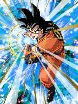Determined Defender Goku