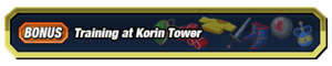 Training at Korin Tower