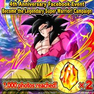 4th Anniversay Become the Legendary Super Warrior 1000