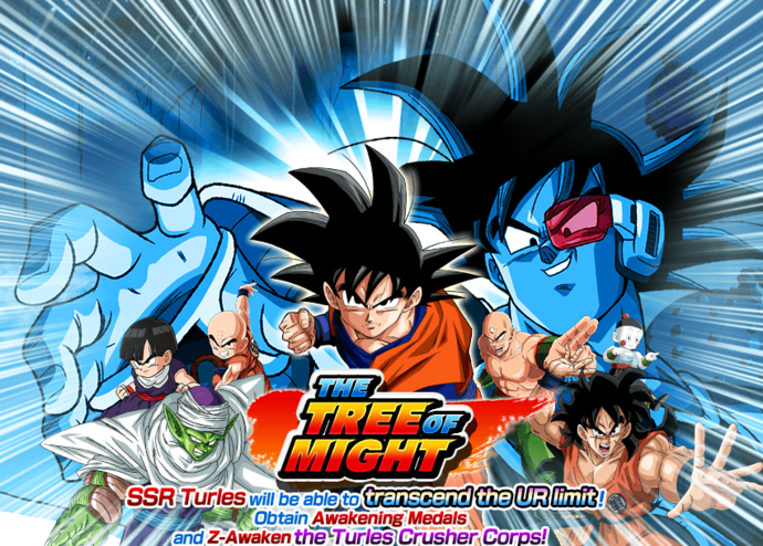Event the tree of might big