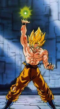 Goku's Death Blast (Return of Cooler)