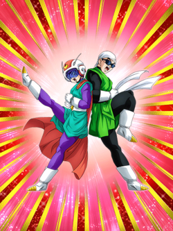 SSR Great Saiyaman artwork