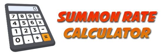 Summon rate calculator banner