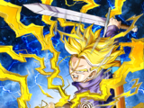 Future-Carving Power Super Saiyan Trunks (Teen)