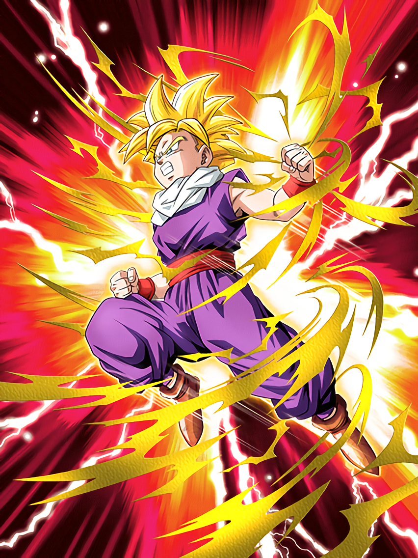 Enraged at evil super saiyan gohan youth dragon ball z - Dragon ball z gohan images ...