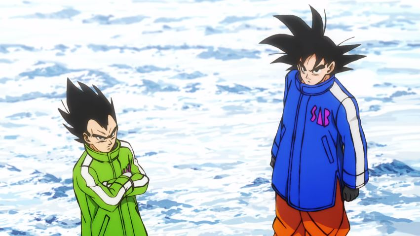 Dragon Ball Super movie Broly Vegeta and Goku jackets