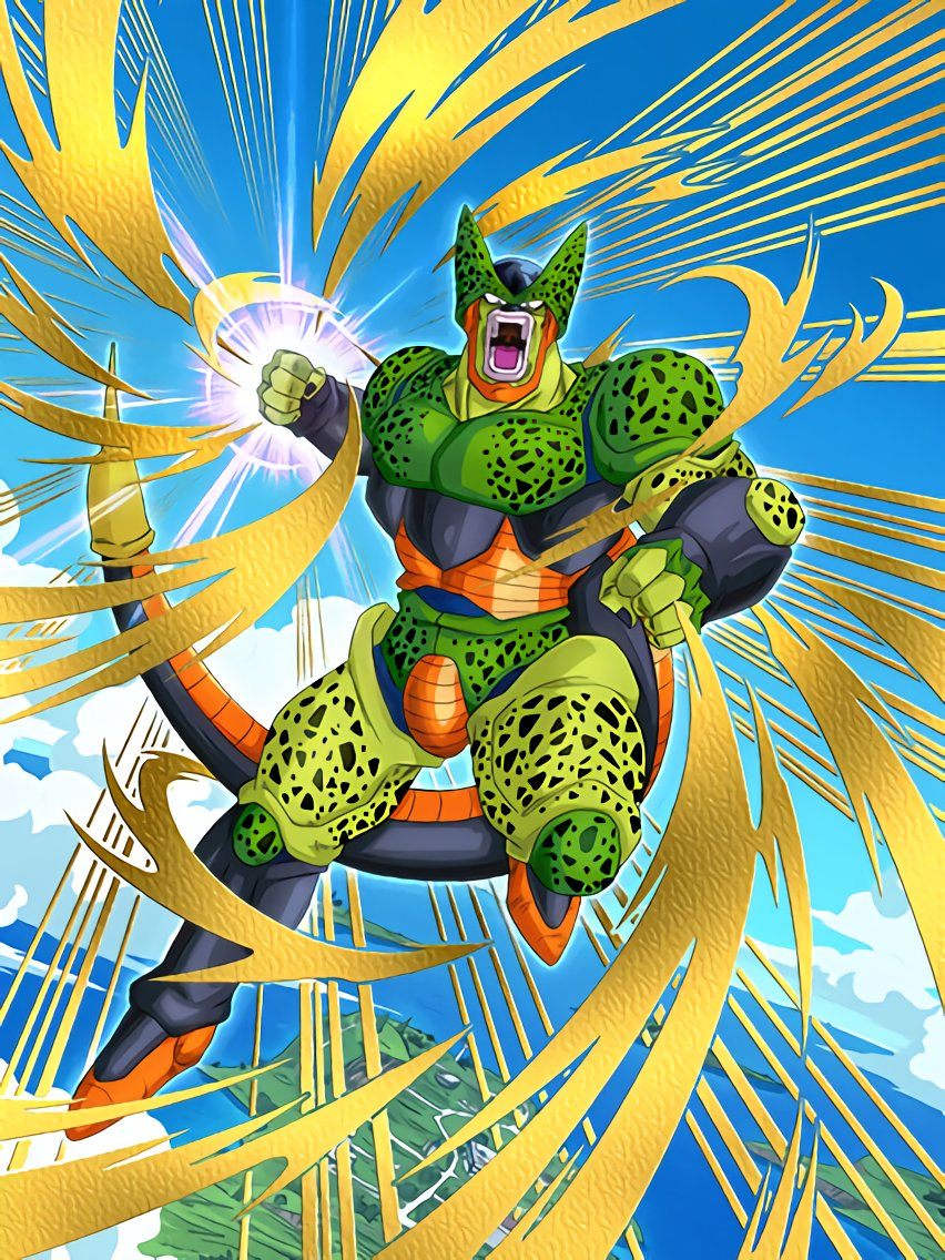 Obsession with Perfection Cell (2nd Form) | Dragon Ball Z Dokkan ...