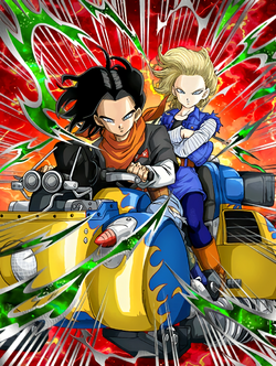 Exhilarating Sprint Android 17 & 18