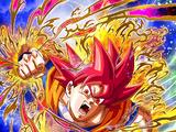 State of God Super Saiyan God Goku