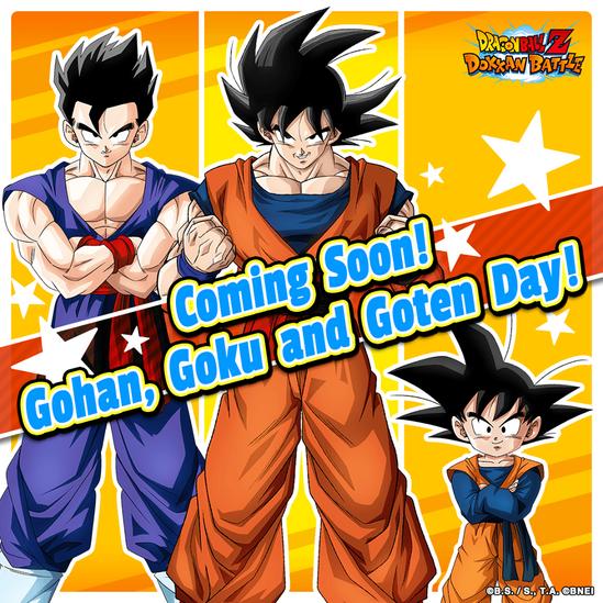 Gohan Goku Goten Day