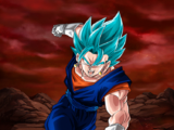 Extreme Z-Battle: Azure Omnipotence Super Saiyan God SS Vegito