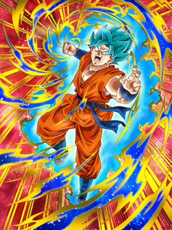 Hammering Light Super Saiyan God SS Goku