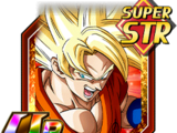 Fighting Spirit Focus Super Saiyan Goku