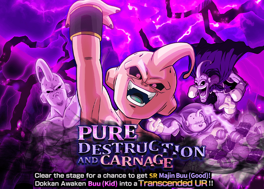 Pure destruction and carnage dragon ball z dokkan battle wikia stage 3 will be available on super 2 difficulty challenge the rampaging majin buu altavistaventures Images