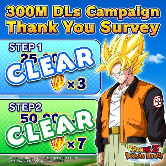 300m DLs Survey