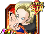 Shocking Contact Android 18