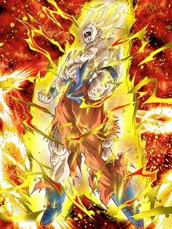 Pinnacle of Rage Super Saiyan Goku