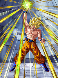Triumphant Light Super Saiyan Goku