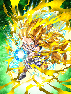 Extreme Fighting Spirit Super Saiyan 3 Goku (GT)