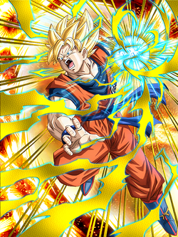 Nettou of Delight Super Saiyan Goku