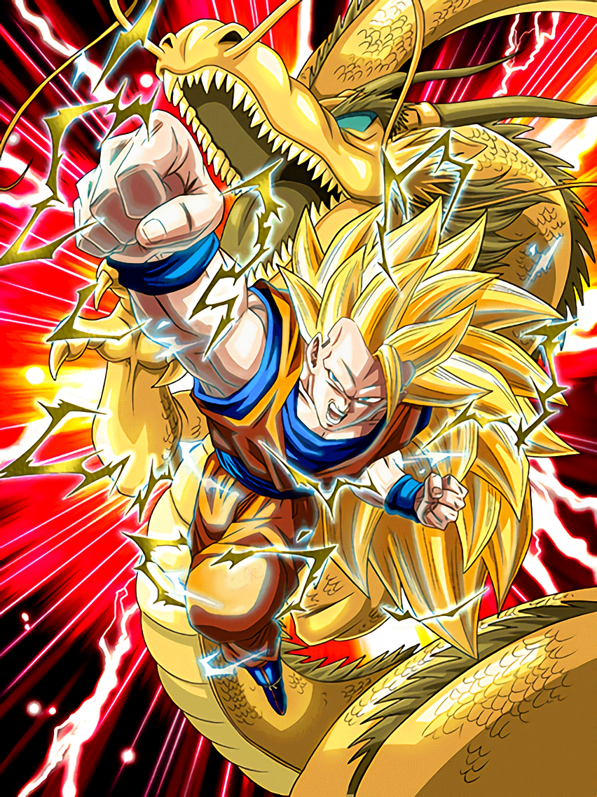mystery super technique super saiyan 3 goku dragon ball z dokkan