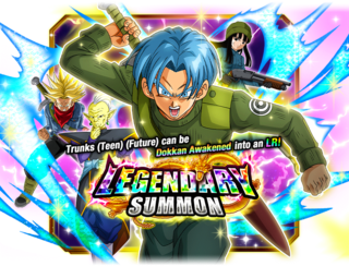 LR Trunks (Teen) (Future) Summon
