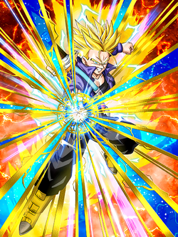 SSj2 Trunks Re-Done Card