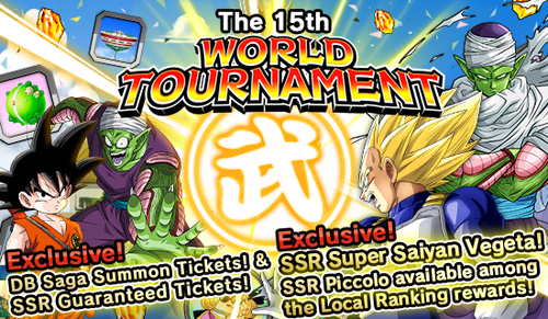 Event the 15th WT big