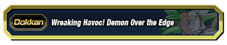 Wreaking Havoc Demon Over the Edge