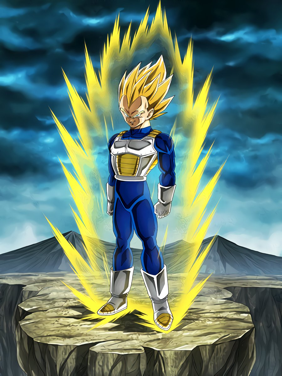 Limitless Combat Power Super Saiyan Vegeta Dragon Ball Z Dokkan
