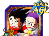 To an Exciting Future Goku (Youth) & Arale Norimaki