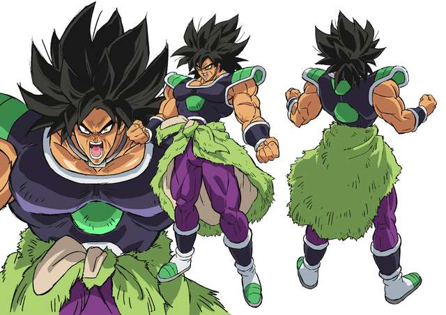Broly(Wrathful)Origin